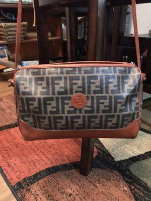 Fendi Roma Vintage leather handbag for Sale in Crowley, TX