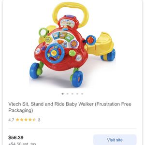 Sit Stand And Ride Baby Walker for Sale in Fresno, CA