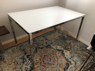 Chrome Base + Glass Table Top for Sale in Los Angeles,  CA