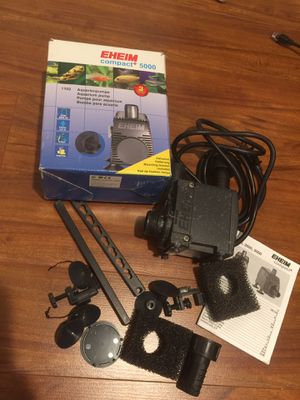 EHEIM compact 5000 aquarium pump for Sale in Odenton, MD