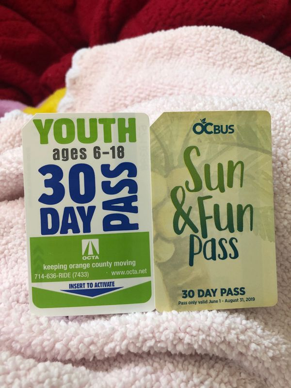 Youth bus passes