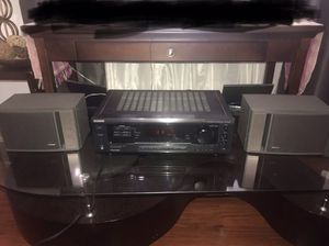 Bose speakers and Sony Receiver for Sale in San Lorenzo, CA
