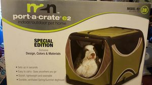 Fabric dog crate new in box for Sale in Philadelphia, PA