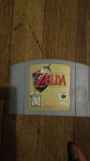 N64 Zelda ocarina of Time for Sale in Baltimore, MD