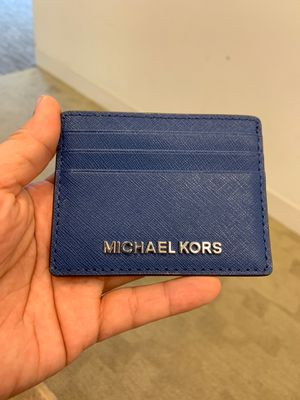 Michael Kors Card holder Blue for Sale in Washington, DC