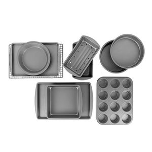 BakerEze Nonstick 10 Piece Baker's Basics Set Nonstick finish promotes easy release Durable steel designed to last Set includes 10 essential bakewar for Sale in Arcadia, CA
