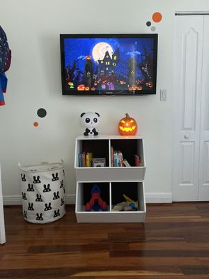 Toy Bookshelves Stackable Storage Cabinet Kids for Sale in Miami, FL