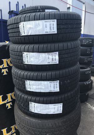 NEW TIRES $55 EACH MADE IN USA LAMANS 205/55R16 for Sale in San Diego, CA