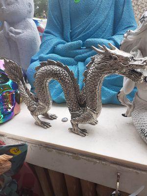 Really nice metal dragon statue for Sale in Dunedin, FL