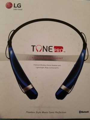 Genuine LG Tone Pro HBS-760 Wireless Bluetooth Stereo Headset for Sale in Dearborn, MI