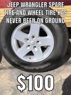 Jeep Wrangler spare tire and wheel for Sale in Whitehall, OH