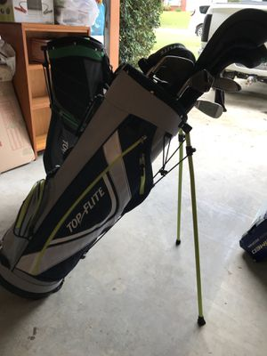 Topflite golf bag and clubs for Sale in Powder Springs, GA