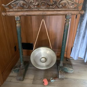 Antique Imported Chinese Gong for Sale in Glendale, CA