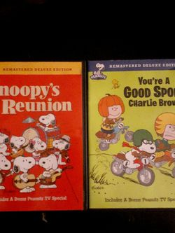 2 Charlie Brown remastered edition DVDs for Sale in Orlando,  FL