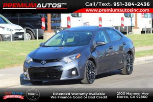 2015 Toyota Corolla for Sale in Norco, CA
