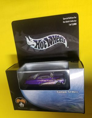 HOT WHEELS 100% '51 MERCURY Limited Edition for Sale in San Dimas, CA