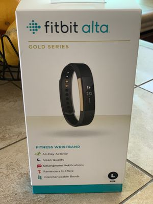 Fitbit Alta Gold Serie New Never used !! Sealed box for Sale in Chula Vista, CA