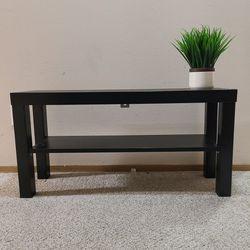 Ikea Lack Table / Stand + 2x Wall Shelf for Sale in Renton,  WA