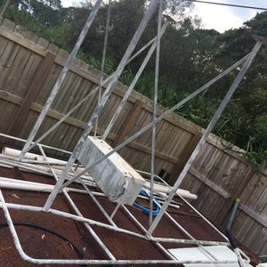 Great Big Stainless T Top With Electrinics box for Sale in Port St. Lucie, FL