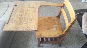 Antique School desk made in 6o's for Sale in Fresno, CA