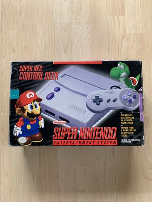 Super Nintendo SNES Jr. with Box for Sale in Chino Hills, CA