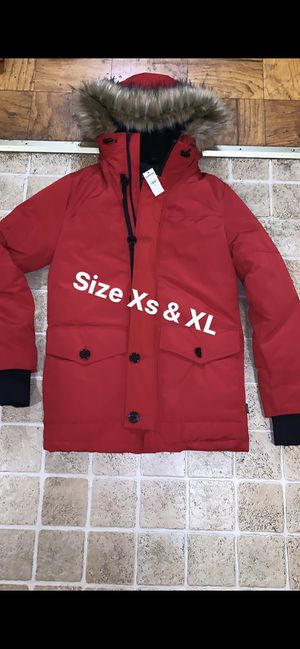 XL express coat left it's 248$ so I want 120$ for Sale in Joint Base Andrews, MD