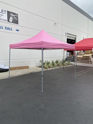 As is 10x10 high top Easy Pop up Canopy Tent for Sale in Fullerton, CA