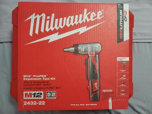 Milwaukee propex expansion tool kit for Sale in Norwalk, CA