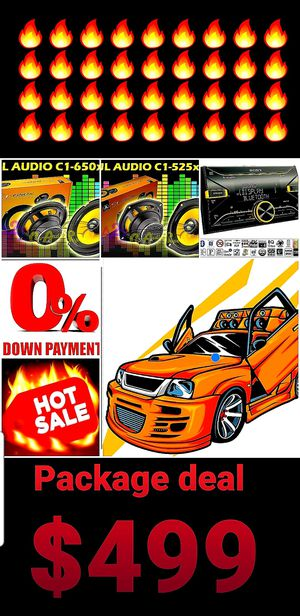 Car audio Package deal for Sale in San Diego, CA