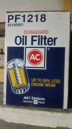 AC Delco PF1218 Oil Filter for Sale in Butte, MT