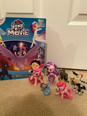 My Little Pony Book and Figurines for Sale in Las Vegas, NV