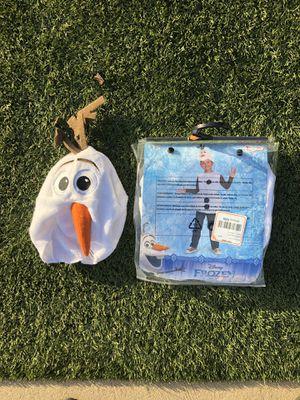 Boys Olaf Halloween costume — frozen — 3t 4t 5t for Sale in Brea, CA
