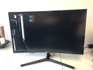 """Samsung 27"""" Curved LED FHD Monitor HDMI VGA for Sale in Lewisville, TX"""