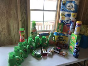 Household and cleaning supplies for Sale in Mansura, LA