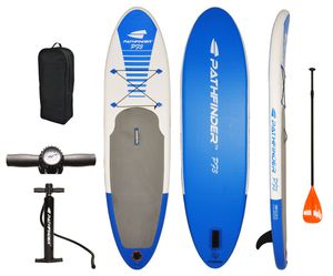 Paddle Board Inflatable SUP Stand Up , Complete KIT: Board, Fin, Pump, Paddle, Carry Bag for Sale in Jersey City, NJ