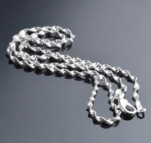 $8 new 22in 925 Silver water wave necklace for Sale in Ballwin, MO