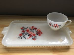 Antique Teacup - Sandwich Plate for Sale in Pasadena, MD