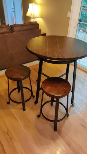 Kitchen table with two stools for Sale in Woodinville, WA
