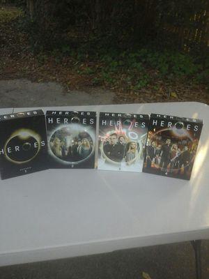 HEROES DVDS ALL 4 SEASONS for Sale in Virginia Beach, VA