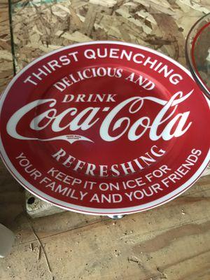🥤Coca-Cola Vintage Plate for Sale in Buckley, MI