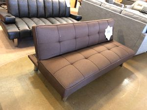Brown futon on sale for Sale in Phoenix, AZ