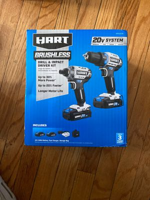 Hart drill and impact driver kit for Sale in Chicago, IL