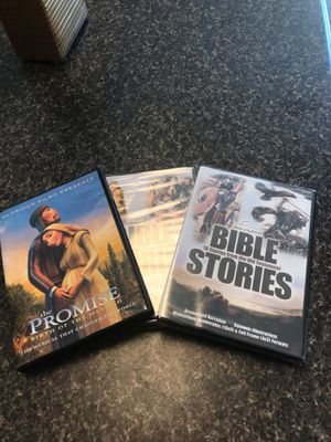 New in plastic Bible Stories DVDs for Sale in Fuquay-Varina, NC