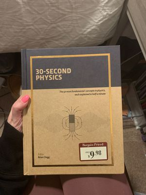 30-Second Physics Book for Sale in Fayetteville, AR