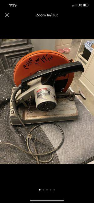 """Makita 14"""" chop saw for Sale in Hammond, LA"""