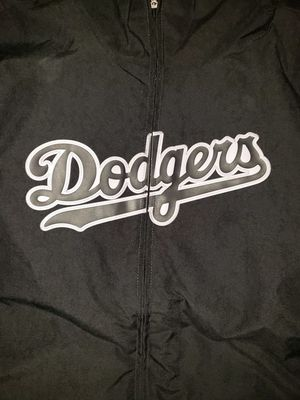 Los angeles Dodgers men's majestic on the field therma base thermal full zip. Size XL for Sale in Downey, CA