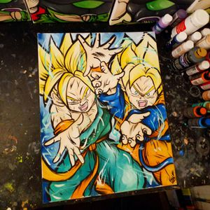 Young Warriors! By Quil - Dragonball Z for Sale in Tracy, CA