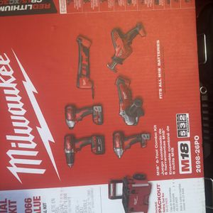 Milwaukee Tools for Sale in Providence, RI