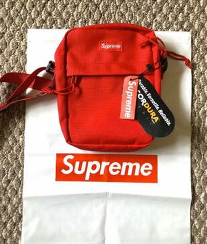 Red supreme shoulder bag for Sale in Escondido, CA