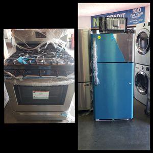 New Frigidaire Refrigerator & Gas stove Set $0 for Sale in Artesia, CA
